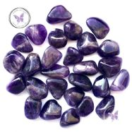 Banded Amethyst Tumble Stone